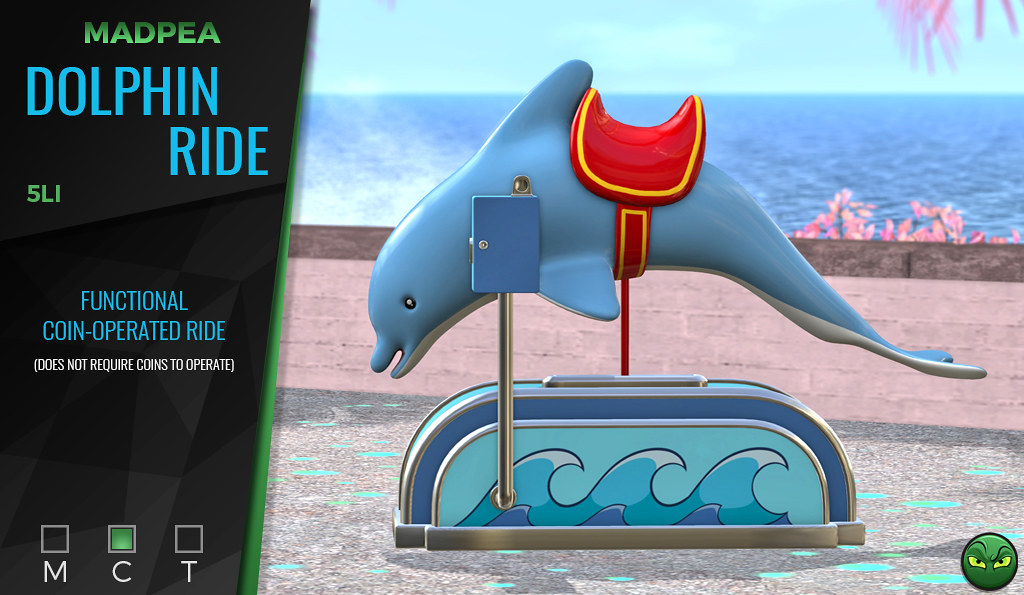 MadPea's Dolphin Ride @ ACCESS! **GIVEAWAY**