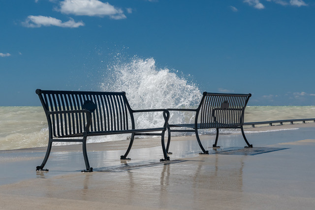 Wet Benches on the Pier