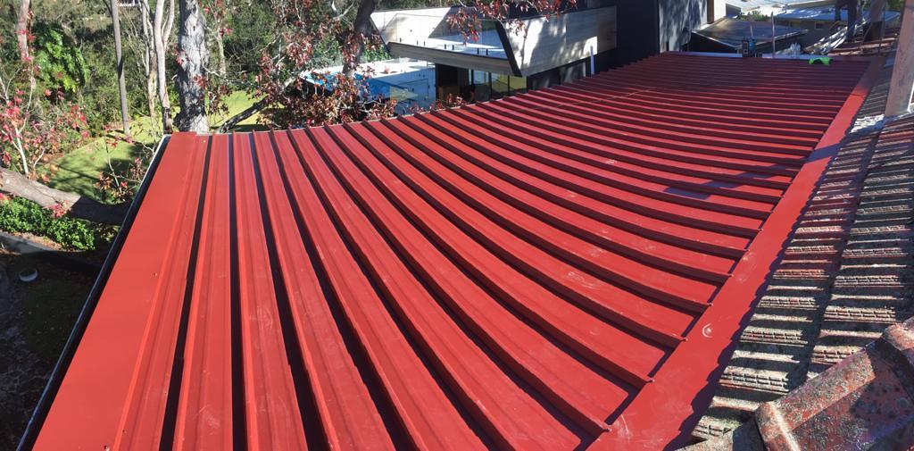 Roseville Sydney   Manor Red Kliplok   City2surf Roofing