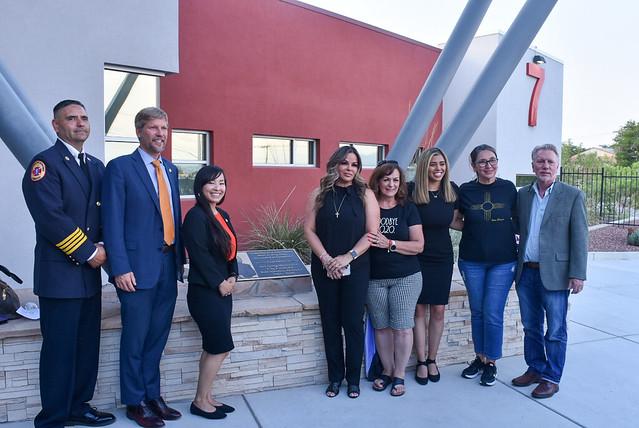 Fire Station 7 Dedication to Councilor Ken Sanchez
