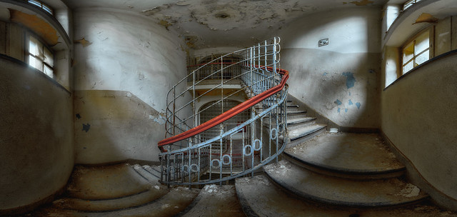 forgotten stairs -or- the red banister