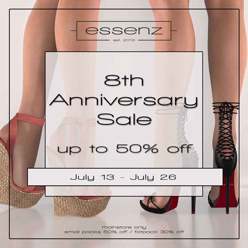 Essenz – 8th Anniversary Sale