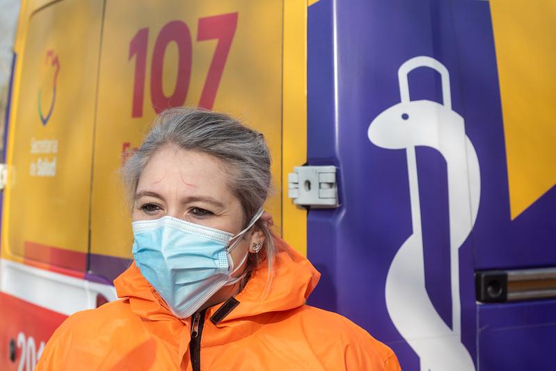 Primera mujer chofer de ambulancia del 107 (1)