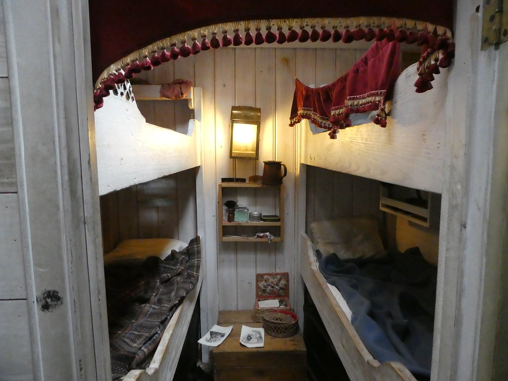 First class cabins on board SS Great Britain