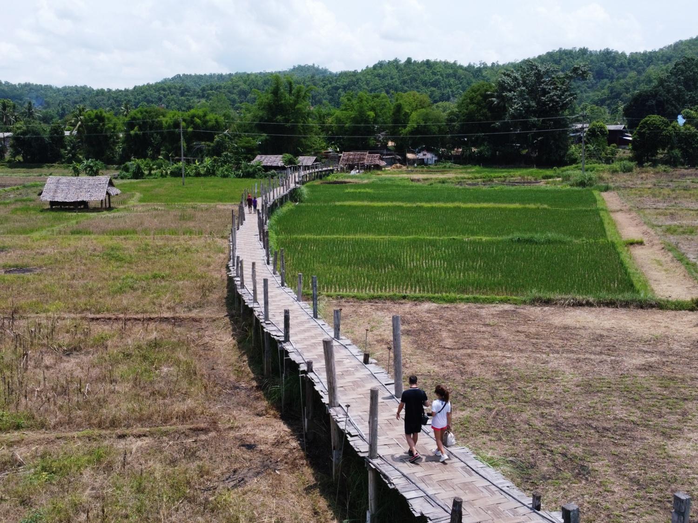 bamboo bridge Mae Hong Son