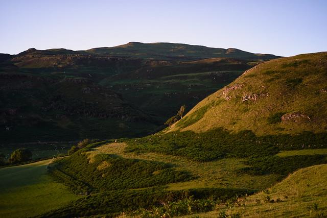 High summer hills