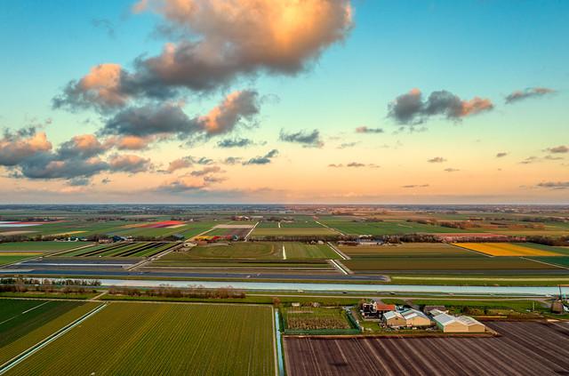 Sleepy evening in Holland.