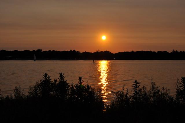 Sunset at Lake Nokomis