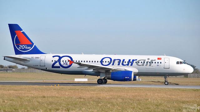 Onur Air 🇹🇷 Airbus A320-200 TC-OBD