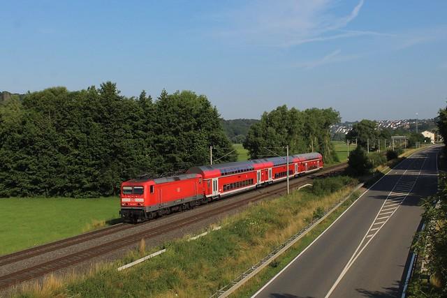 DB Regio 114 029 | Oberbrechen