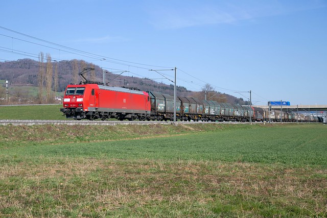 DB Cargo 185 135 Itingen