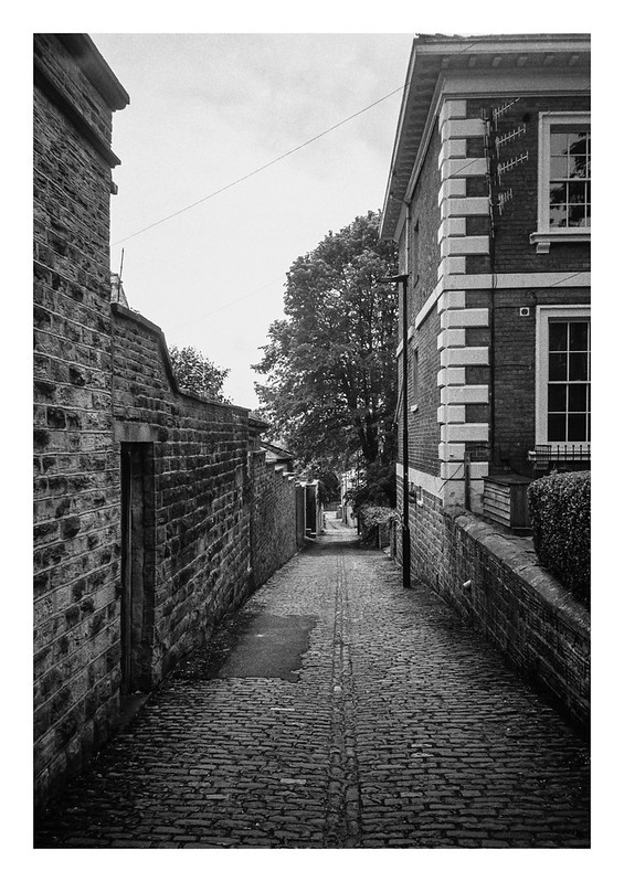 Cobbled alley