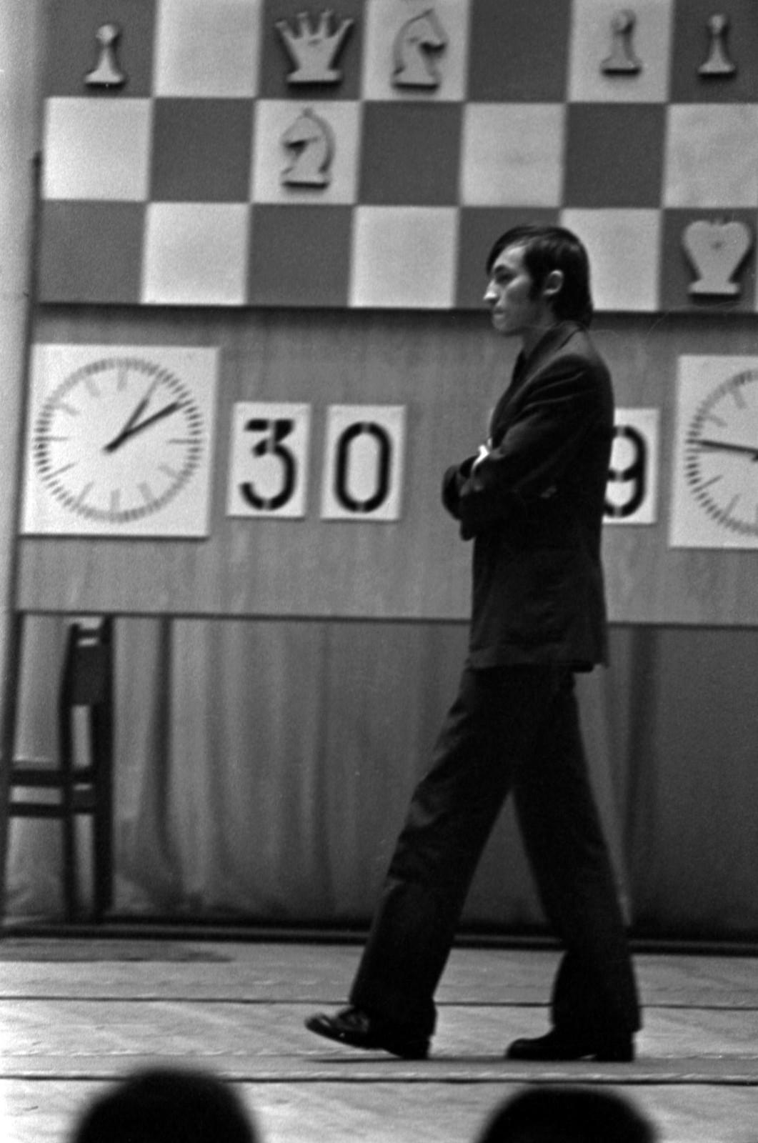 1975. Шахматный матч между Виктором Корчным и Анатолием Карповым в Колонном зале Дома Союзов