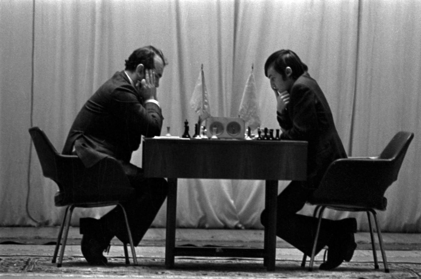 1975. Шахматный матч между Виктором Корчным и Анатолием Карповым в Колонном зале Дома Союзов (2)