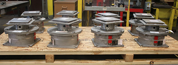 Compact Spring Supports Custom-Designed for a Chemical Manufacturing Plant in Agricultural