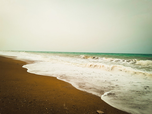 I left my soul there down by the sea...