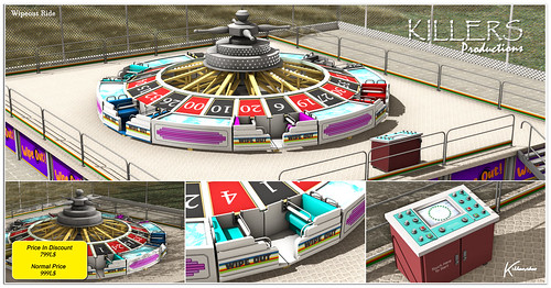 """""""Killer's"""" Wipeout Ride On Discount @ Cosmopolitan Event Starts from 13th July"""