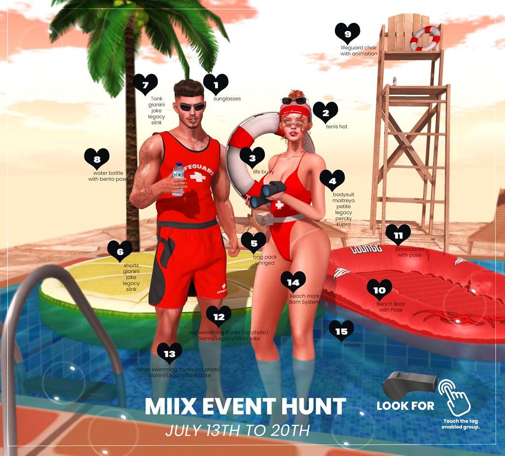 MIIX EVENT - 15TH HUNT - FURTACOR LIFEGUARD