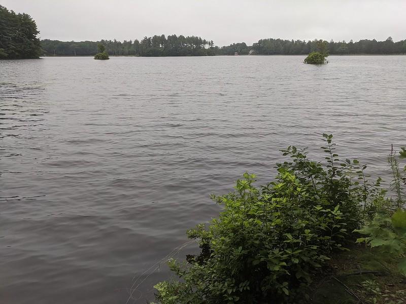 Hike and lake
