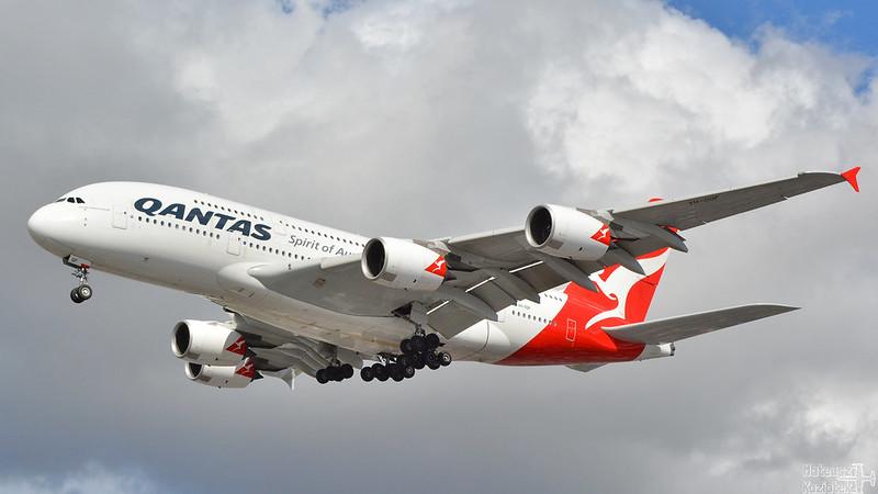 Qantas 🇦🇺 Airbus A380-800 VH-OQF