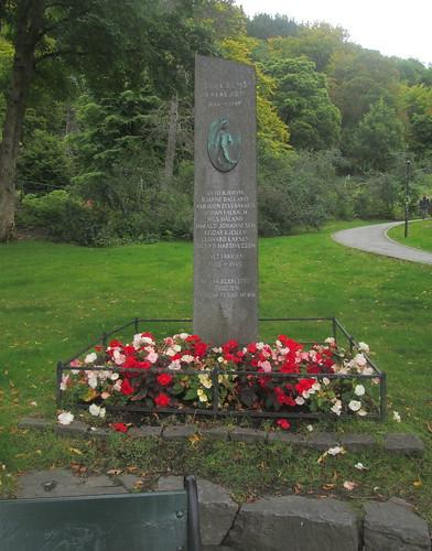 Memorial To Skansens Batalion, Bergen
