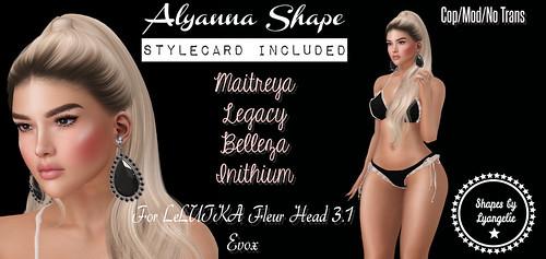 Alyanna Shape Gift -2L