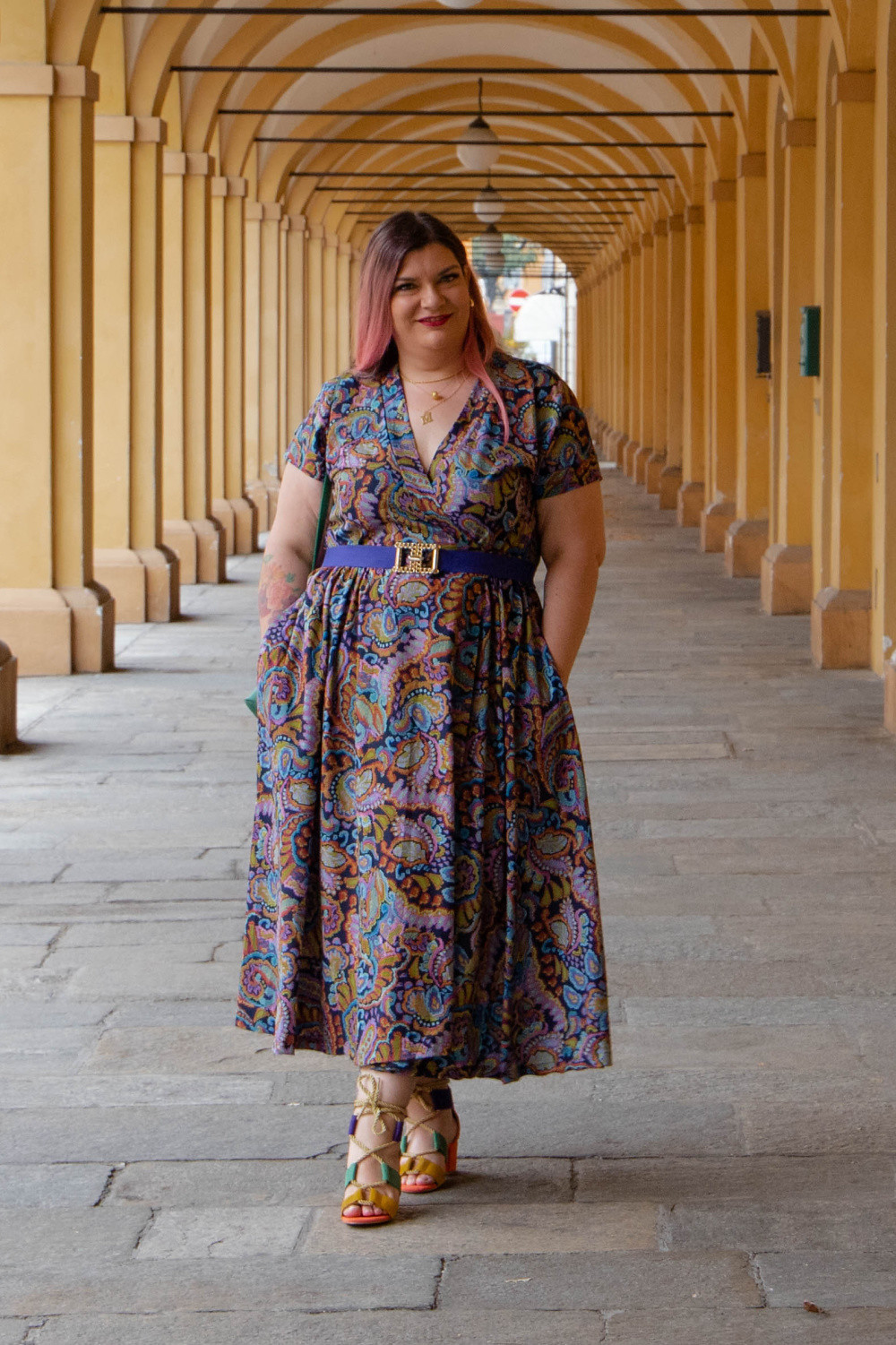 Outfit handmade made in gina curvy plus size (8)