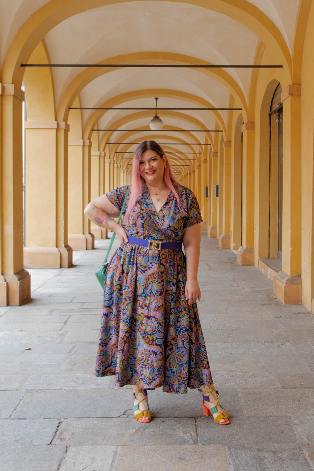 Outfit handmade made in gina curvy plus size (2)