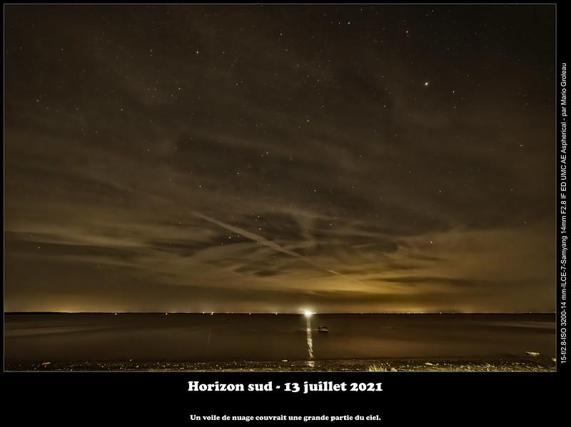 Horizon sud - 13 juillet 2021