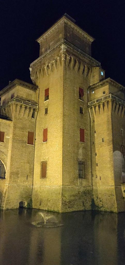 Castello Estense Ferrara Italy