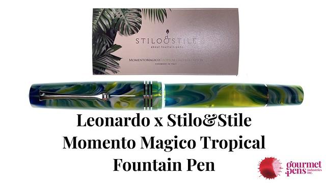 Leonardo x Stilo&Stile Momento Magico Tropical Fountain Pen