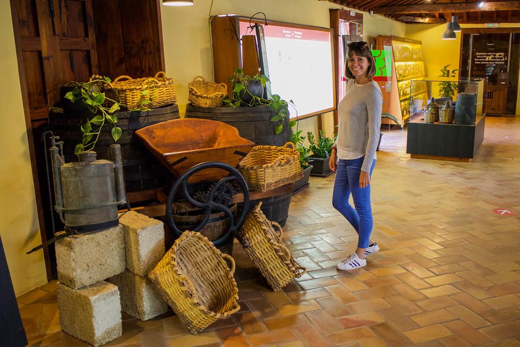 Interior de la Casa Museo del Vino en Tenerife