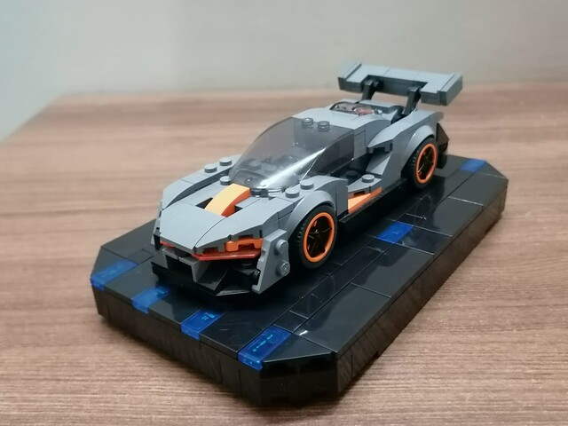 Lego McLaren Senna Modified.