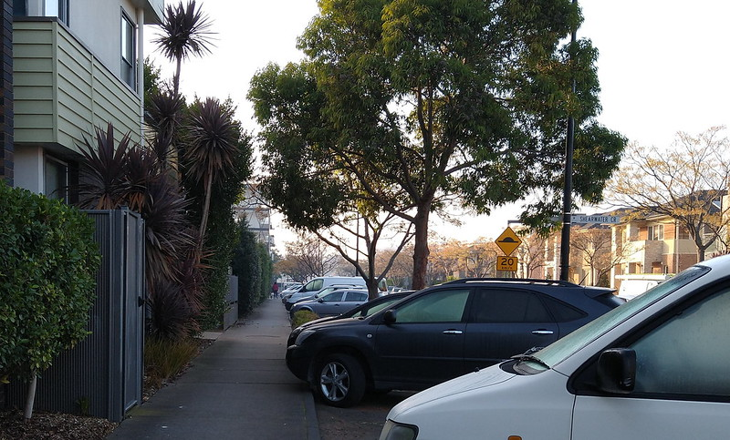 Townhouses in Edgewater