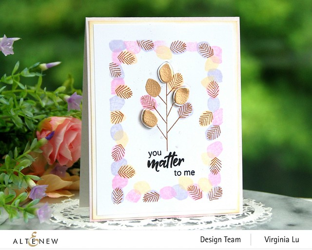 Altenew-MD Tiny Foliage-Antique Gold Embossing Powder-001