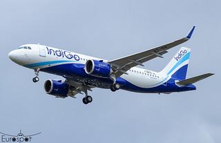F-WWIB / VT-IIA Airbus A320-251N Indigo s/n 10610 - First flight  * Toulouse Blagnac 2021 *