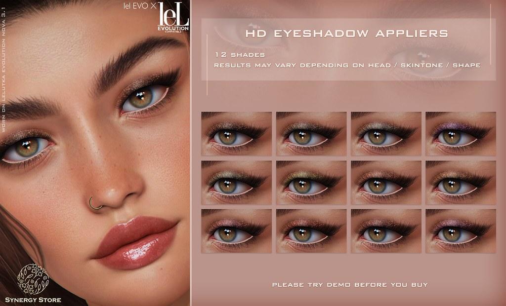 Synergy – Lelutka HD Eyeshadow Applier for EVO/EVO X heads – Natal♥