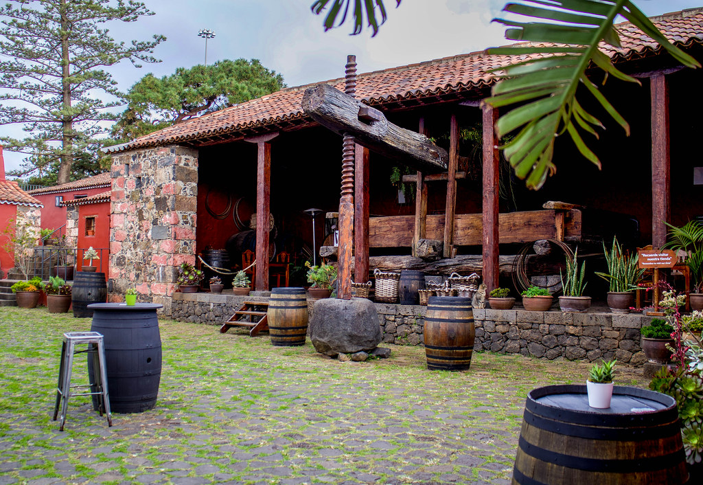 Lagar en la Casa del Vino en El Sauzal