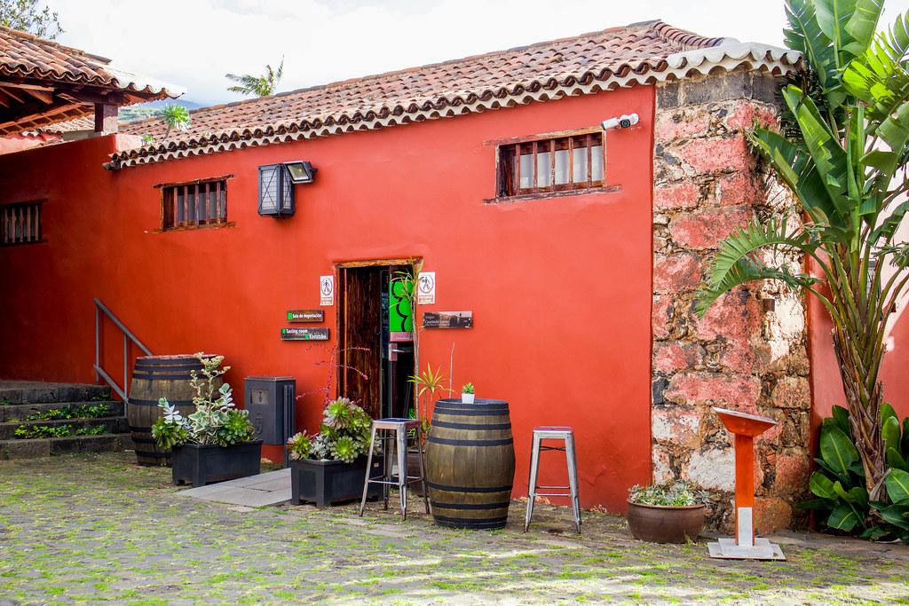 Tienda de la Casa del Vino en El Sauzal