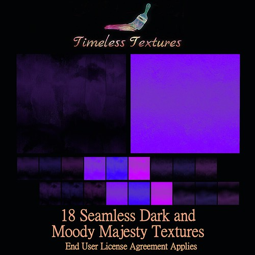 TT 18 Seamless Dark and Moody Majesty Timeless Textures