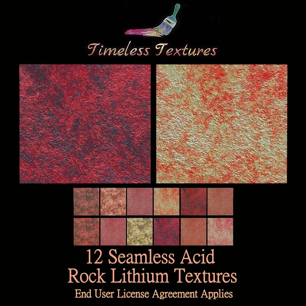 TT 12 Seamless Acid Rock Lithium Timeless Textures