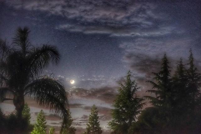 Venus and Moon 2