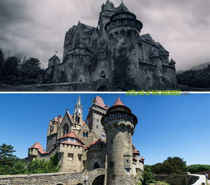 The Witcher castle