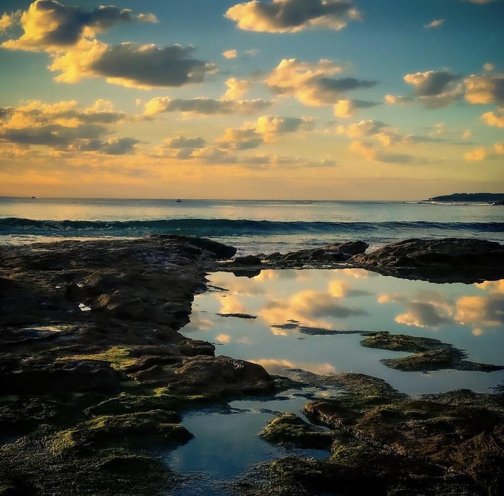 … morning reflections … Cronulla, NSW Australia