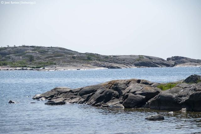 Kalliota Örön saarella