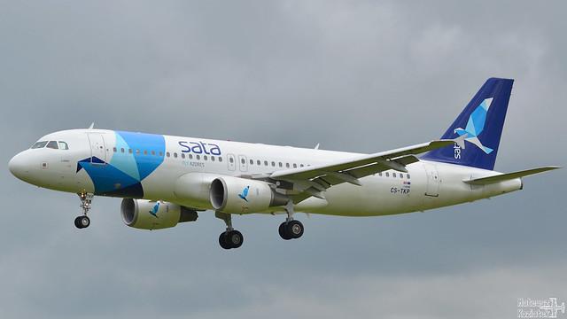 SATA International 🇵🇹 Airbus A320-200 CS-TKP