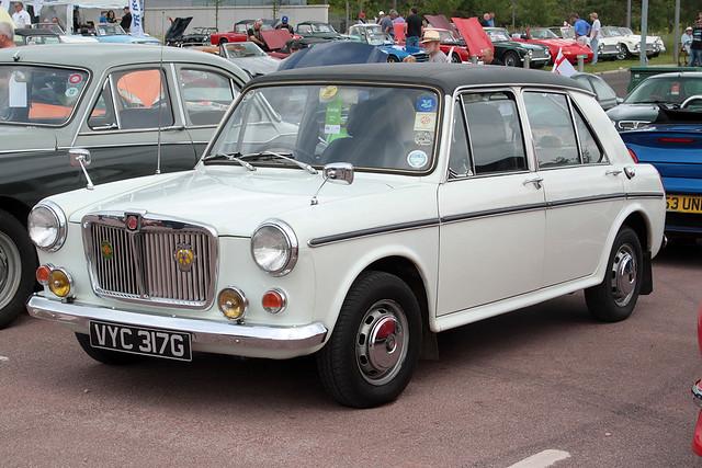 1969 MG 1300 (VYC 317G) 1300cc - BMC & Leyland Show - Gaydon 2021