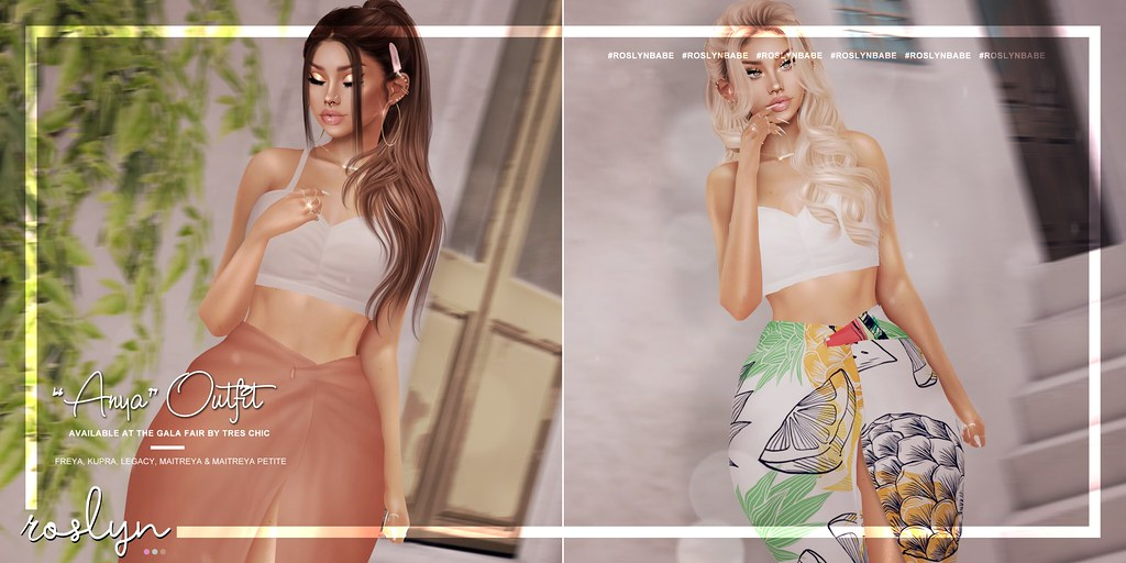"""roslyn. """"Anya"""" Outfit @ GALA Fair by Tres Chic"""
