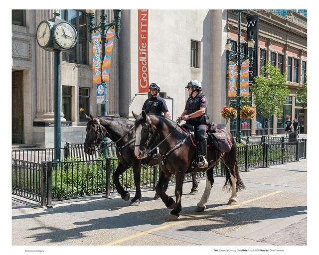 Calgary's Cowboy Cops