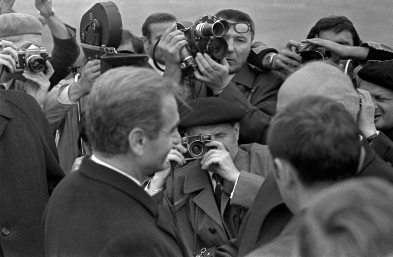 1972. Визит шахиншаха Ирана Мохаммеда Реза Пехлеви в Москву, Внуково